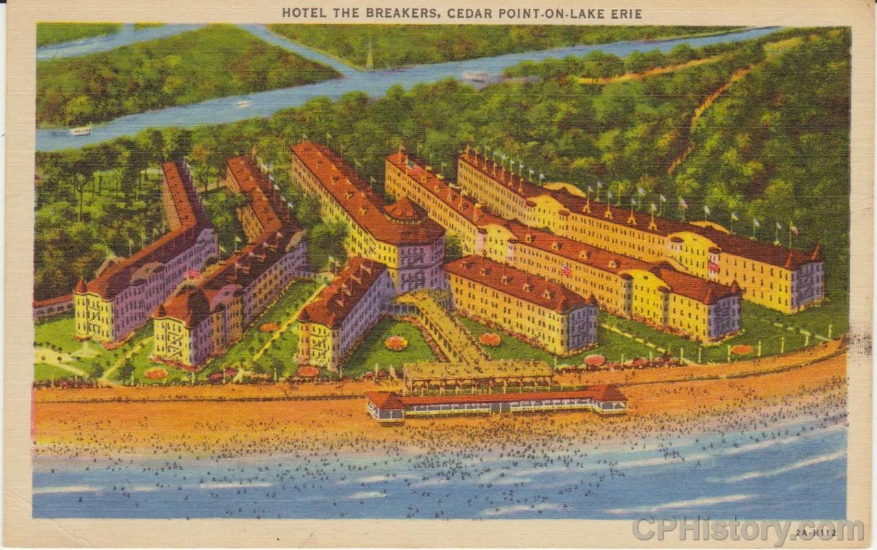 Hotel The Breakers Cedar Point - Front.jpg