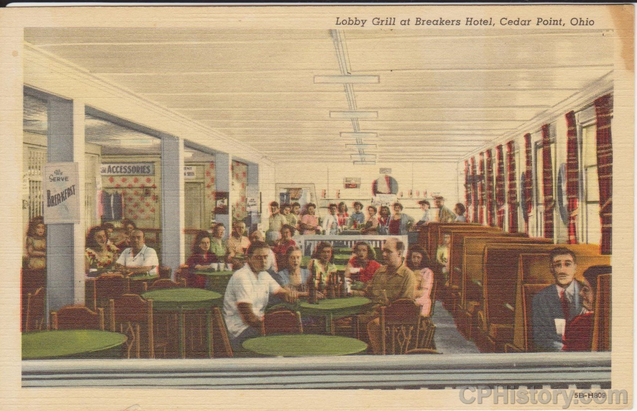 Lobby Grill at Breakers Hotel, Cedar Point, Ohio - Front.jpg