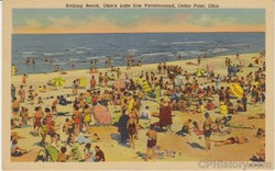 Bathing Beach Ohio's Lake Erie Vacationland