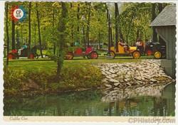 Cadillac Cars Cedar Point Postcard