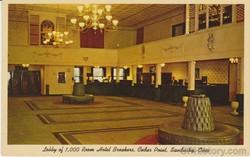 Lobby of Hotel Breakers