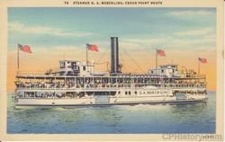 Steamer GA Boeckling, Cedar Point