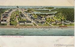Cedar Point on Lake Erie